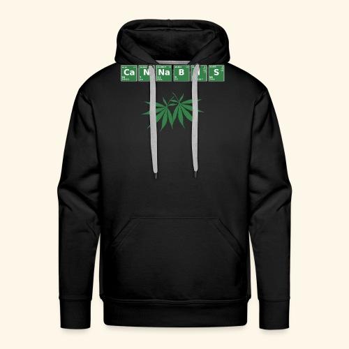 Cannabis Elemente Weed 420 - Männer Premium Hoodie