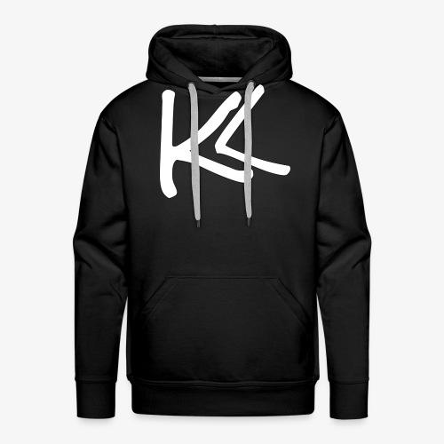 Kirbs Vlogs White Logo - Men's Premium Hoodie