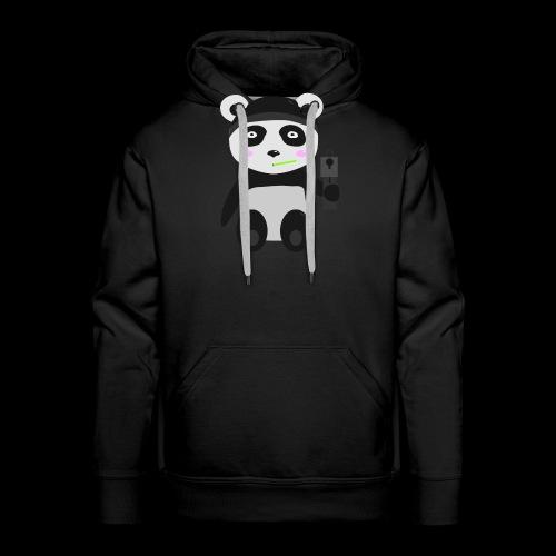 Gangsta-Panda - Männer Premium Hoodie