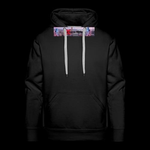 eXtreme fli99ers tryck på en tröja. - Premiumluvtröja herr