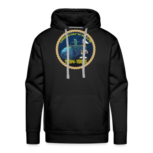 Command Badge SSN-1983 - Men's Premium Hoodie