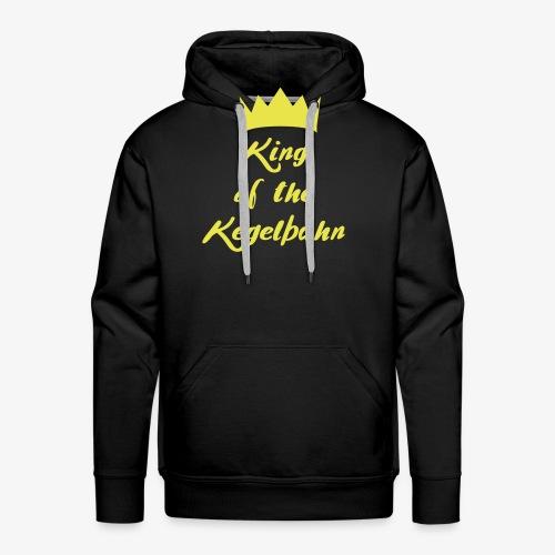 King of the Kegelbahn - Männer Premium Hoodie
