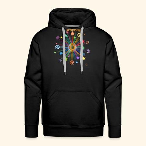 SCORPION powers - Sweat-shirt à capuche Premium pour hommes