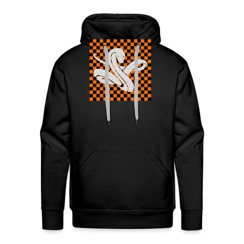 Wavy snake - Mannen Premium hoodie