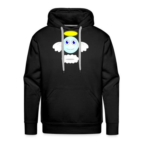 puff logo - Felpa con cappuccio premium da uomo