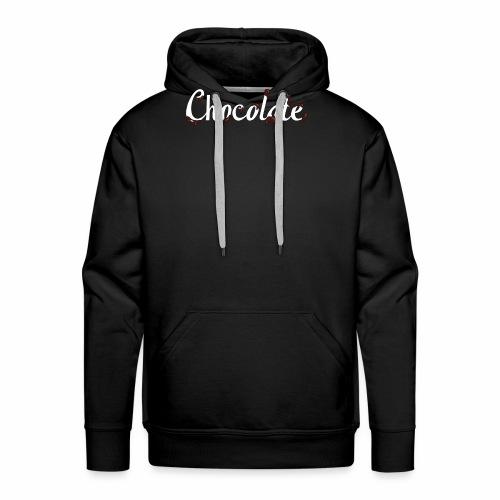 Schokolade - Männer Premium Hoodie