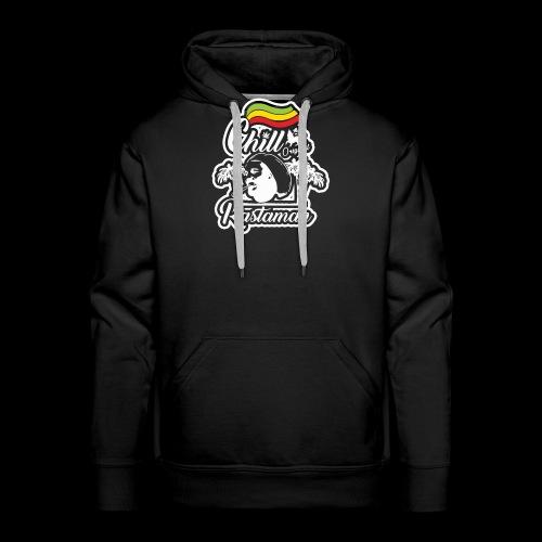 artfull dodger Chill Rastaman White version - Sweat-shirt à capuche Premium pour hommes