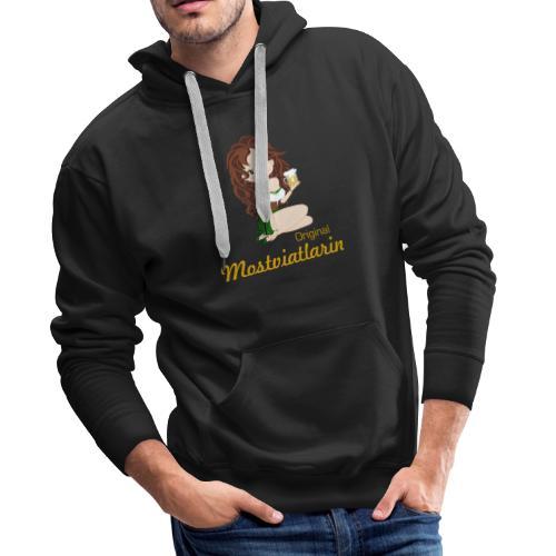 mostviertlerin - Männer Premium Hoodie