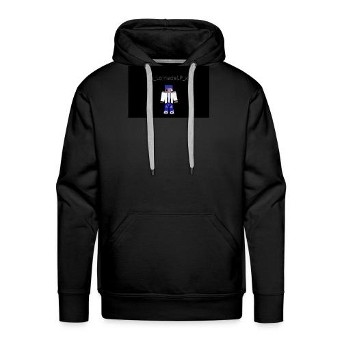 Design mit meinem alten MInecraft Skin :D - Männer Premium Hoodie