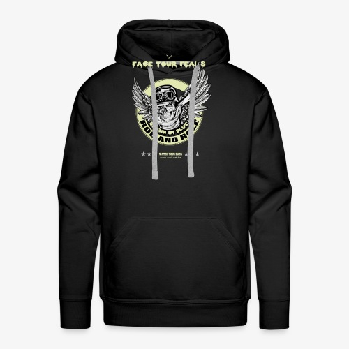 Flying Skull - Männer Premium Hoodie