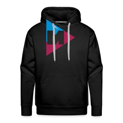 magnus logo 5 - Herre Premium hættetrøje