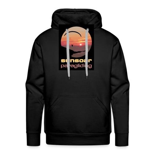 sunsoar paragliding - Men's Premium Hoodie