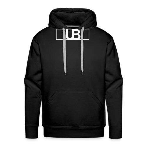 UrbanBrand Logo - Bluza męska Premium z kapturem