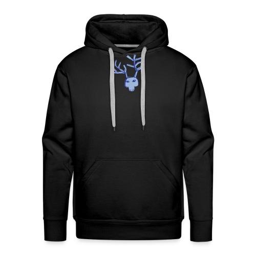 Jelen - Bluza męska Premium z kapturem
