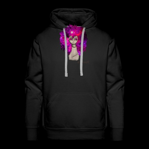 Universe Girl [BLK Edition] - Mannen Premium hoodie