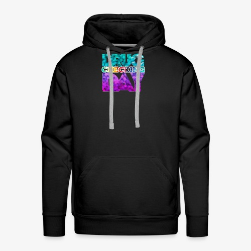 Drug Checking Day Letter stack colorful - Mannen Premium hoodie