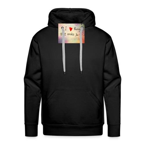 liefdes t-shirts - Mannen Premium hoodie