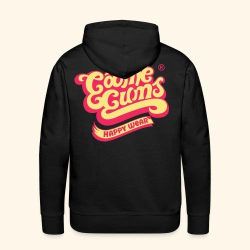 Goonie Gums : Classic Logo - Sudadera con capucha premium para hombre