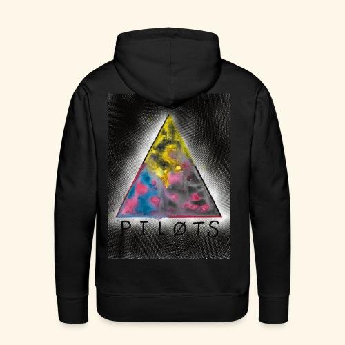 21 pilots color triangle - Sweat-shirt à capuche Premium pour hommes
