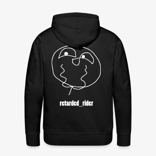 retarded rider design - Männer Premium Hoodie