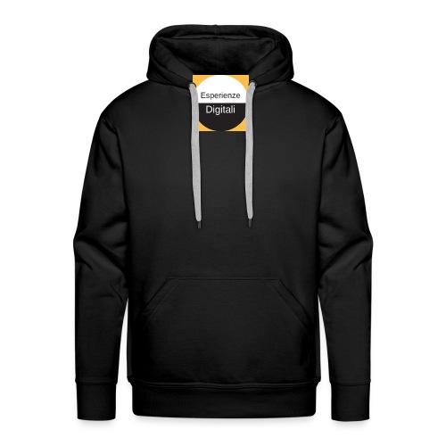 Logo Esperienze Digitali - Felpa con cappuccio premium da uomo