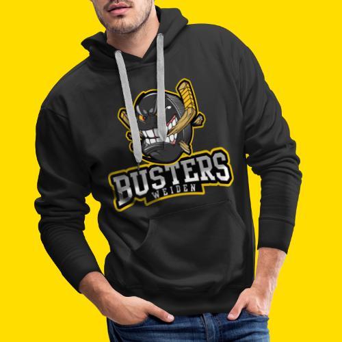 Busters Fun Shirt - ANGRY PUCK - Männer Premium Hoodie