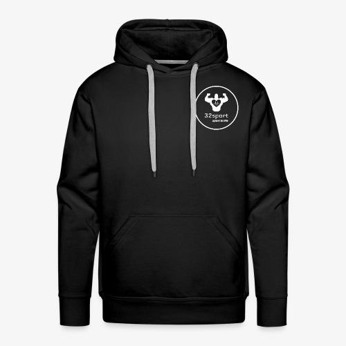 32Sport W - Sweat-shirt à capuche Premium pour hommes