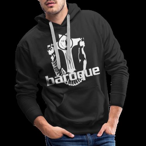Baroque Records Logo Black - Männer Premium Hoodie