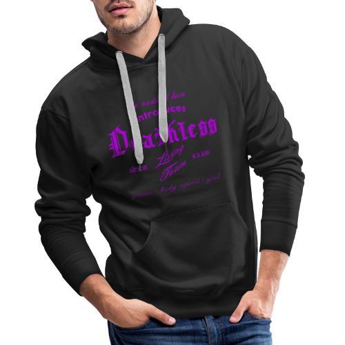 deathless living team violet - Männer Premium Hoodie