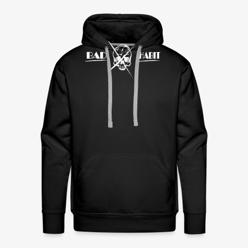 Bad Habit Skull Fail - Men's Premium Hoodie