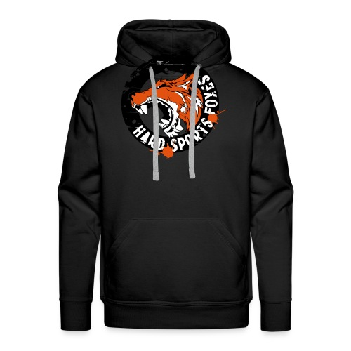 Hard Sports Foxes - Männer Premium Hoodie