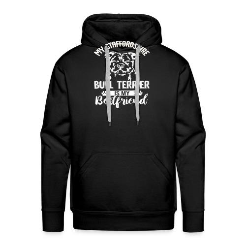 STAFFORSHIR- BULLTERRIER-BEST-FRIEND - Männer Premium Hoodie