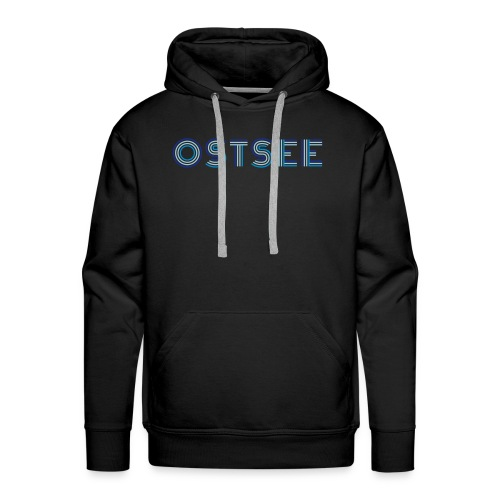 Ostsee Retro - Männer Premium Hoodie