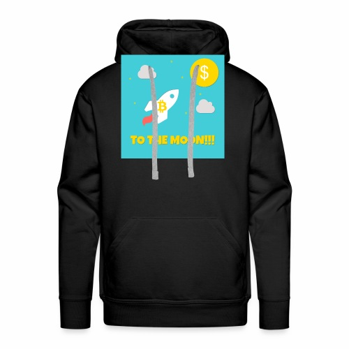 TO THE MOON COLLECTION - Männer Premium Hoodie