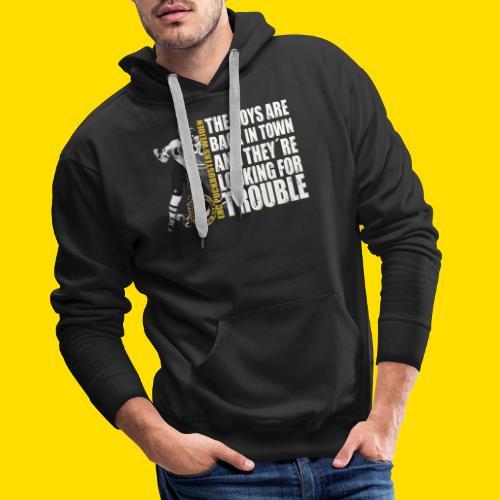 boysareback PUCKBUSTERS Shirt - Männer Premium Hoodie
