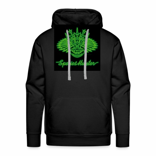 Species Hunter Neon 01 - Mannen Premium hoodie