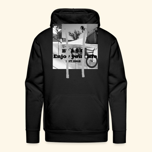 Enjoy your life by A.S.C EST.2018 - Männer Premium Hoodie
