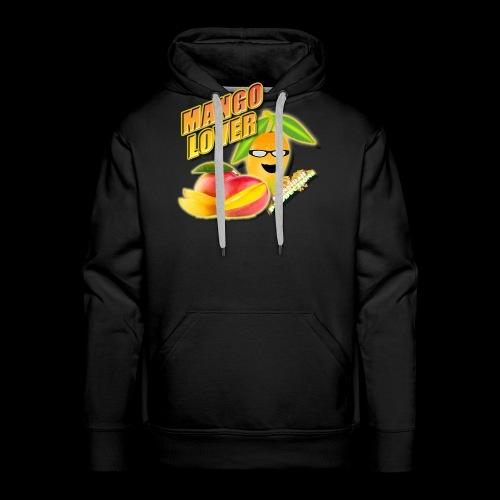 Mango Lover Kansidah Design - Männer Premium Hoodie