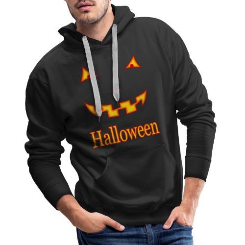 Halloween Gruselmaske - Männer Premium Hoodie