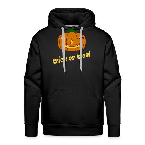Halloween trick or treat mit Kürbis - Männer Premium Hoodie