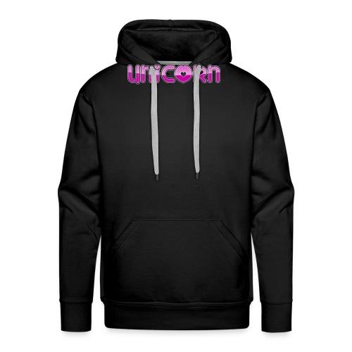 CRAZY UNICORN - Männer Premium Hoodie