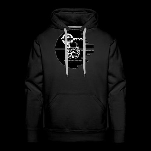 DarkSide Gaming We Want You Death Star Logo - Men's Premium Hoodie