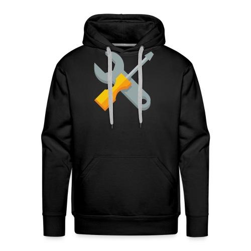 wrench screwdriver icon - Mannen Premium hoodie