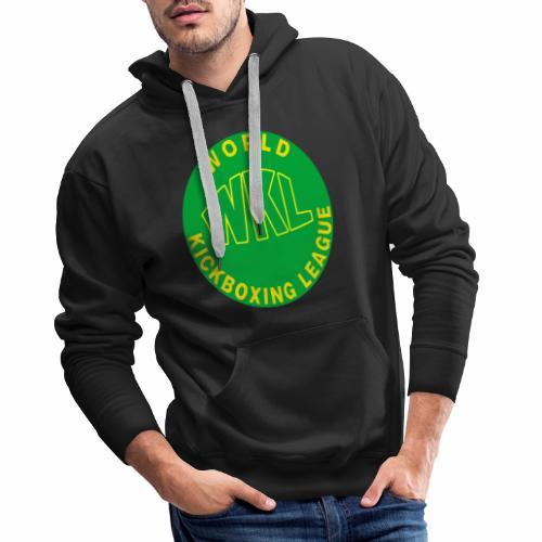 WKL GREEN - Sudadera con capucha premium para hombre