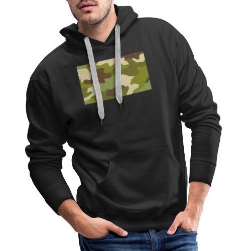 legerprint T-shirt - Mannen Premium hoodie