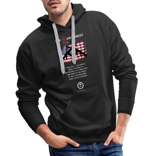 2nd Amendment - Men's Premium Hoodie