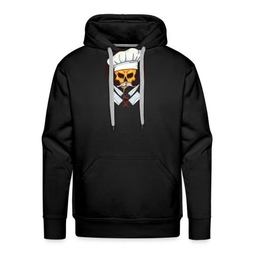 Chefkoch Totenkopf - Gekreuzte Messer - Männer Premium Hoodie