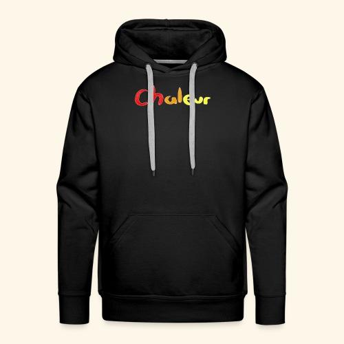 chaleur - Men's Premium Hoodie