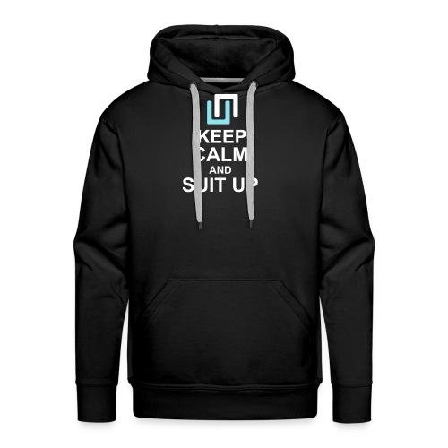 Neon Suit Up - Men's Premium Hoodie