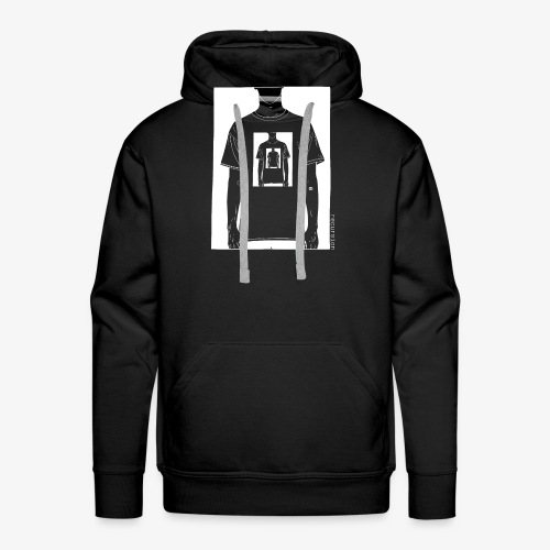 Recursion inverted | Geek | Art | Loop | - Men's Premium Hoodie